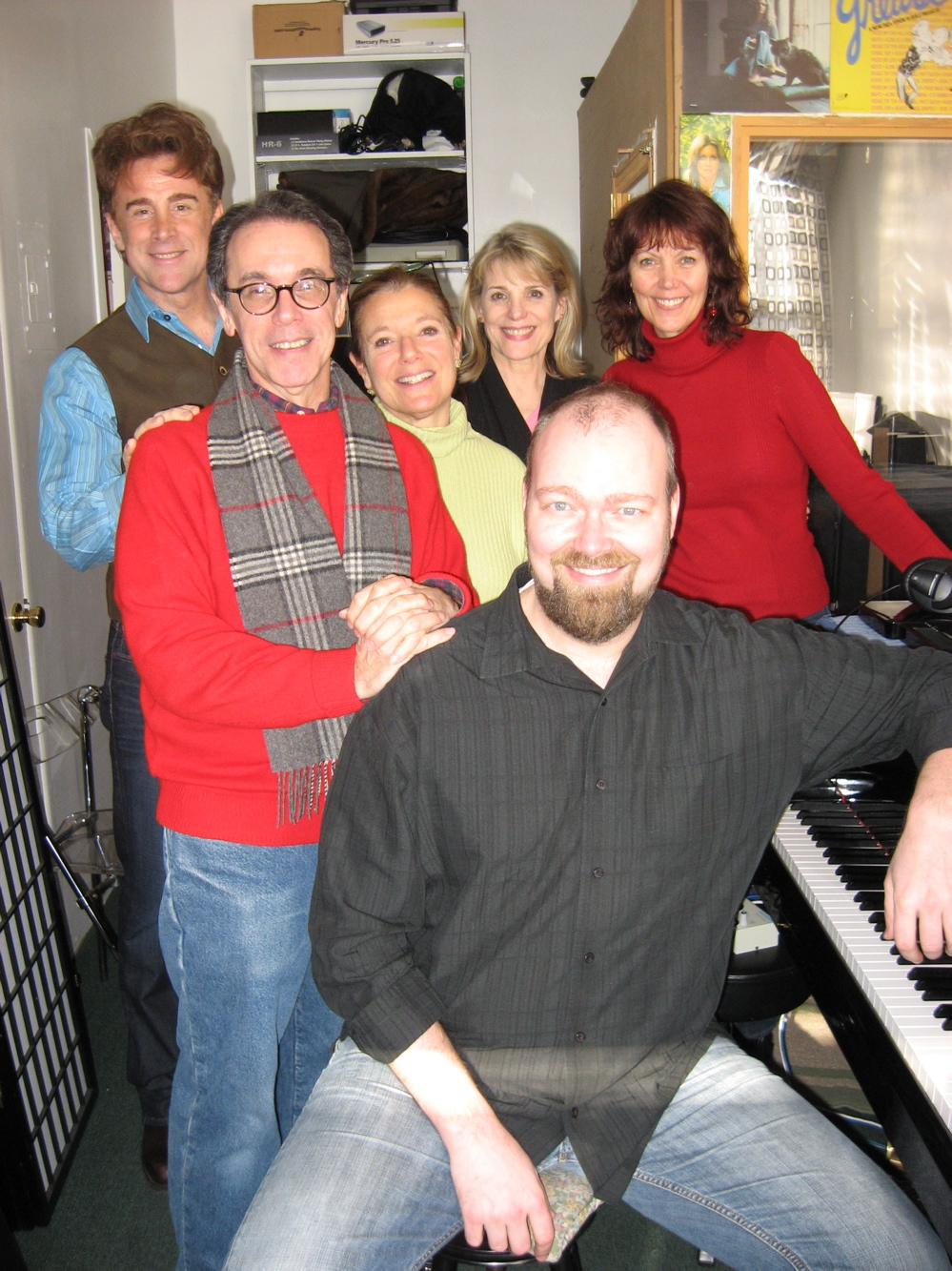 Sal Viviano, Lynne Wintersteller, Howard Marren, Judy Sanger, Nancy Johnston, Ray Fellman