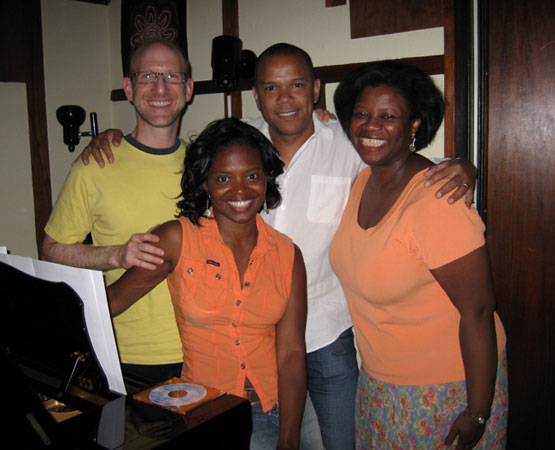 Doug Cohen, La Chanze, Jerry Dixon and Cheryl Davis