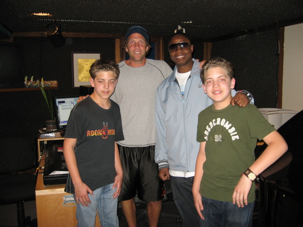 Jesse Itzler, Doug E. Fresh and The Twins